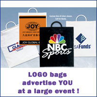 LOGO bags advertise YOU at a large event !